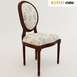 Louis XV style Chair 3D model